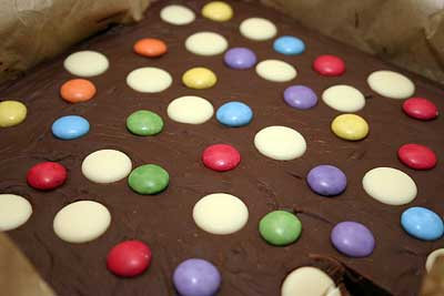 chocolate fudge 1