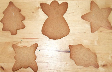 cooked christmas biscuits