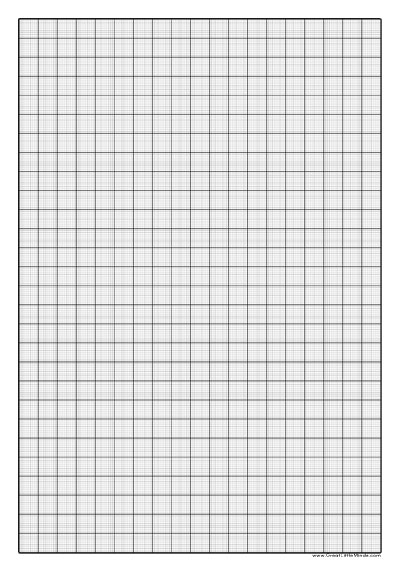 1mm  Graph Paper