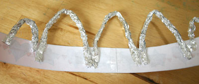 crown back foil strips
