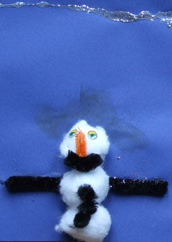 winter snowman picture